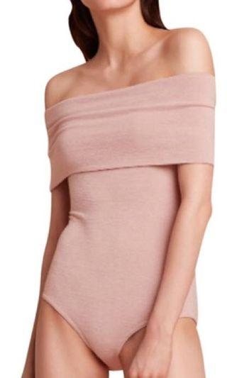 Aritzia Wilfred Off Shoulder Bodysuit Sweater (Medium)