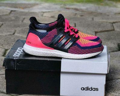Adidas Ultraboost Black Pink 39