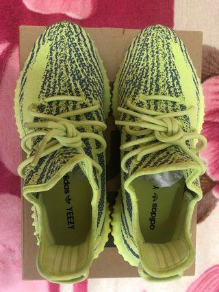 Adidas didas yeezy boost 350 v2 椰子黃 us 9.5