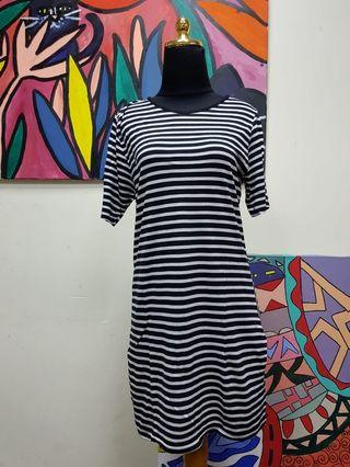 #belanja0 Stripe Mididress