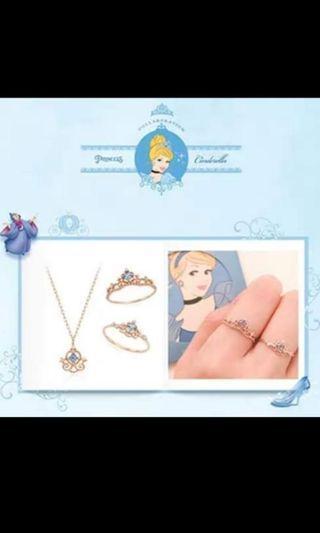 公主系列👉灰姑娘、貝兒、白雪、美人魚、長髮樂佩💎項鍊手鍊耳環戒指