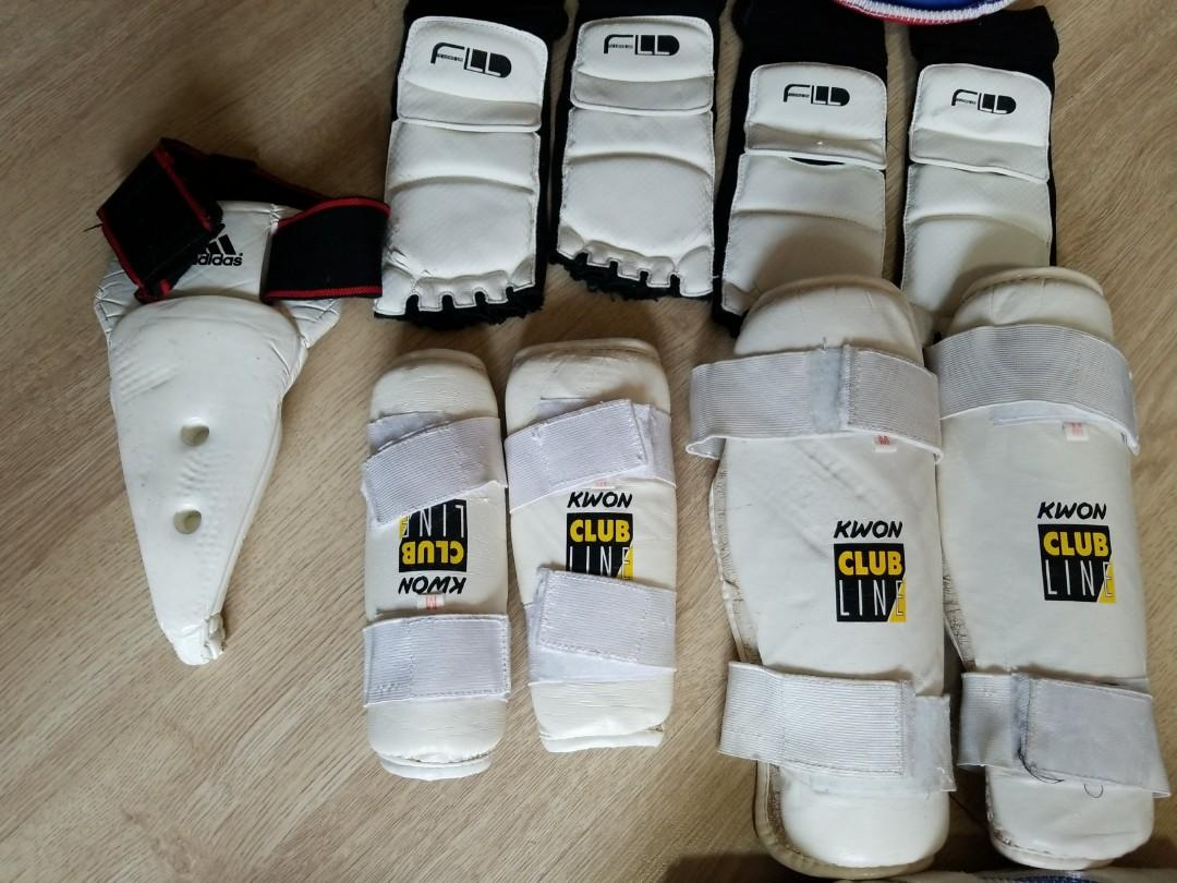 跆拳道護甲全套適合12歲以下小朋友使用