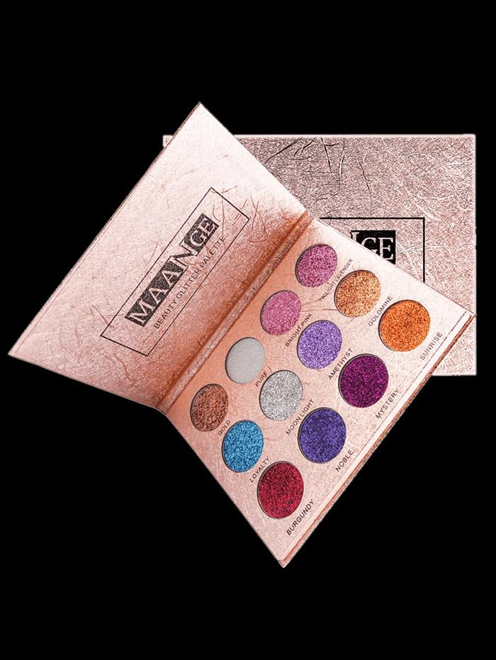 12 Colors Glittering Long Lasting Eyeshadow Palette | Brand New Ready Stocks | Sale