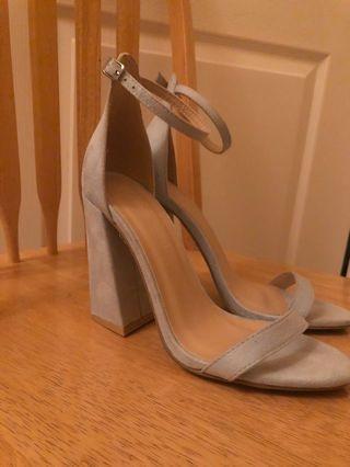Size 8 light blue heels
