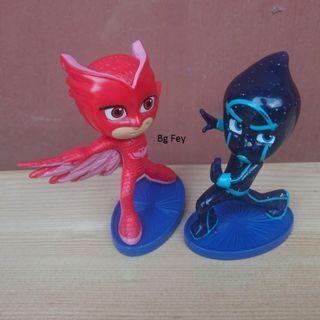 PJ masks Figure Cake Topper - Just Play - 2 bh