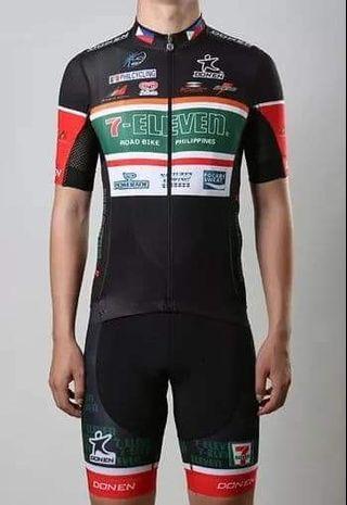 7-eleven PH cycling jersey XL