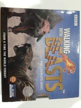 Kaset VCD Klasik Dokumenter Walking with the Beast BBC Complete Series