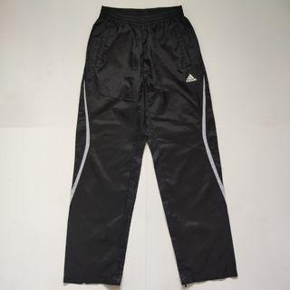 Adidas Regular fit windbreaker tracksuit black