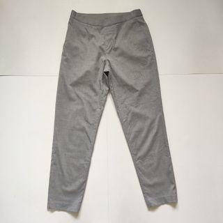 Uniqlo slim fit ankle pants grey