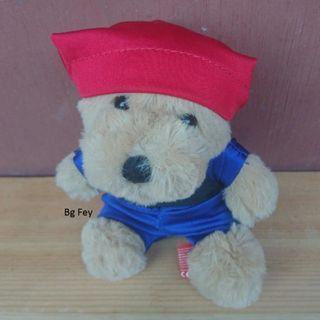 Teddy Bear Samsui dari Kit Kat