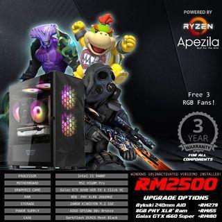 Intel Gaming PC (NEW)