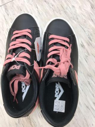 全新pony 平底鞋$2280。24.5cm#復古慢跑鞋