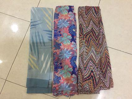 kerudung segiempat hijab jilbab square scarf umama motif murah harga per pc