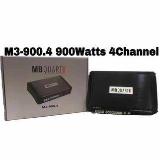 MB QUART 4-CHANNEL AMPLIFIER