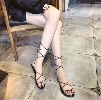 羅馬涼鞋(近全新)