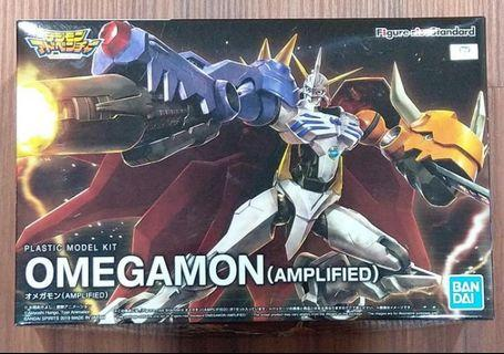 萬代 BANDAI Figure-rise Standard FRS Omegamon (AMPLIFIED) 數碼寶貝 奧米加獸