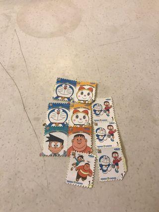 Doraemon stamps stickers