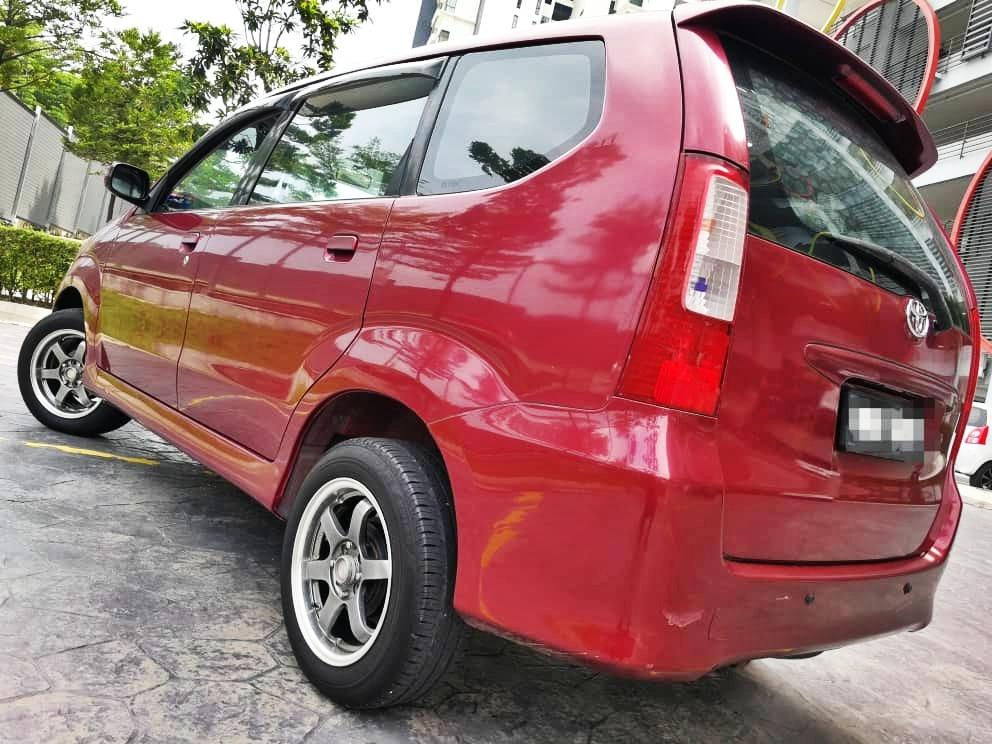 2006 Toyota AVANZA 1.3 (M) DEPO 2990 LOAN KEDAI KERETA