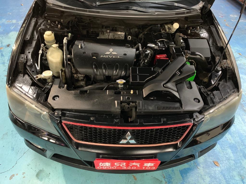 正2011年Mitsubishi Lancer Fortis 1.8 原廠曜石黑.只賣15.8萬