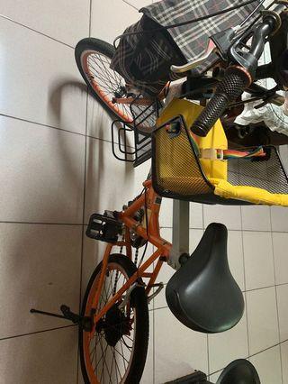 變速親子自行車