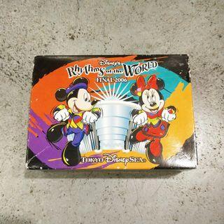 2006年日本絕版限定東京海洋迪世尼迪士尼米奇米妮米老鼠公仔世紀節奏盒裝盒玩玩具擺飾日版正版收藏