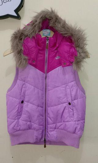 Nike Puffer Vest with Hoodie