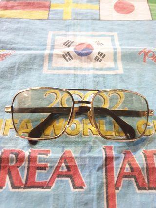 Vintage lignano optura sunglasses gold filled