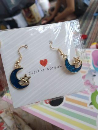 Anting / earring / blue star earring