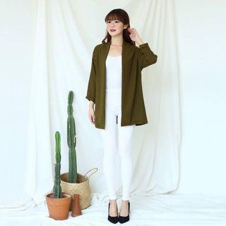 Simply & Basic Outer #B3171 - Army - Brand New