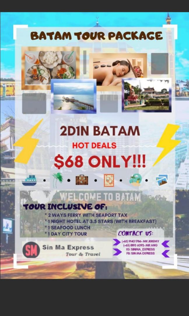2D 1N Batam Tour