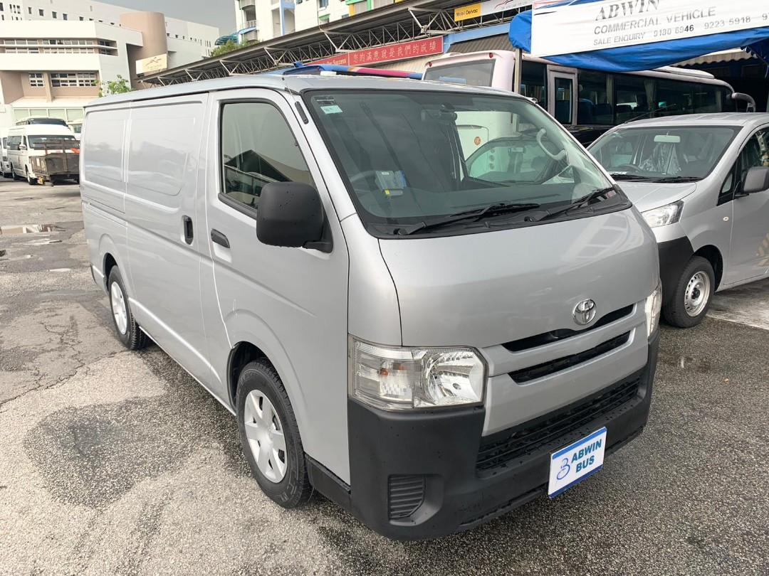 $800+ Mthly - 10/14 Toyota Hiace 3.0 Manual Manual