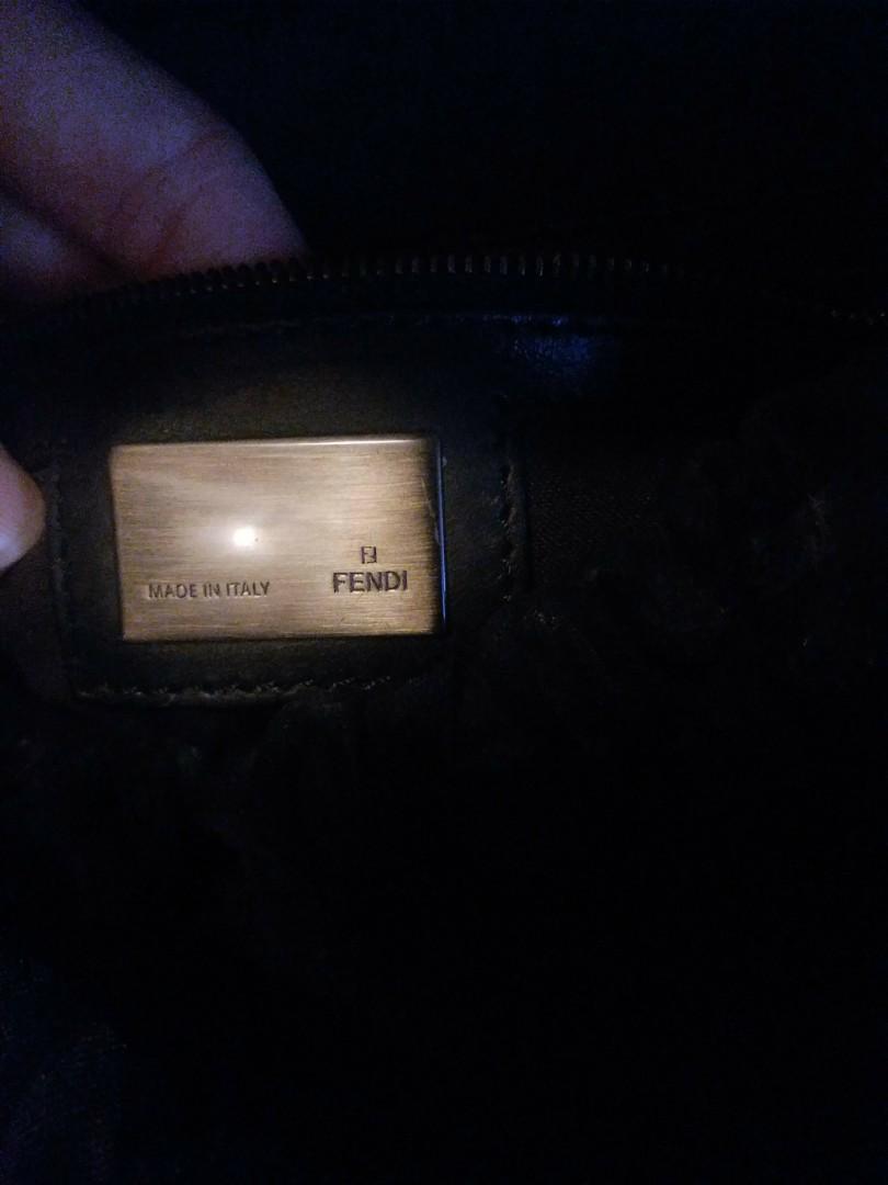 95新 正版 Fendi 手袋 有塵袋