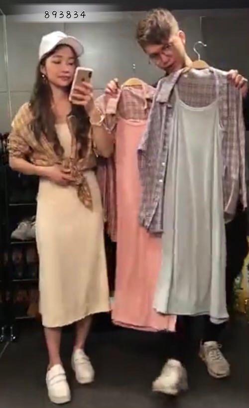 兩件式長裙