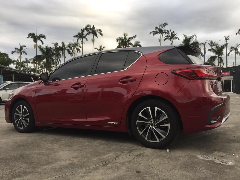自售 2017/18 lexus ct200h 小改款 有跟車