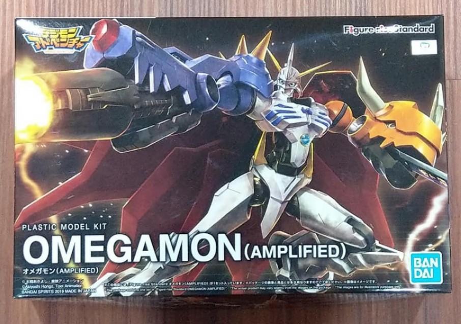 萬代 BANDAI Figure-rise Standard FRS Omegamon (AMPLIFIED) 數碼寶貝 奧米加獸