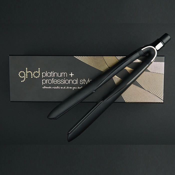 "全新可預訂 黑色款 GHD Platinum+ Professional Performance 1"" Ceramic Styler 陶瓷直髮夾 直髮器"