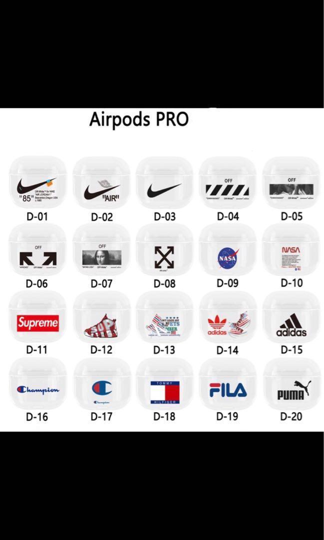 Airpods pro case multiple designs