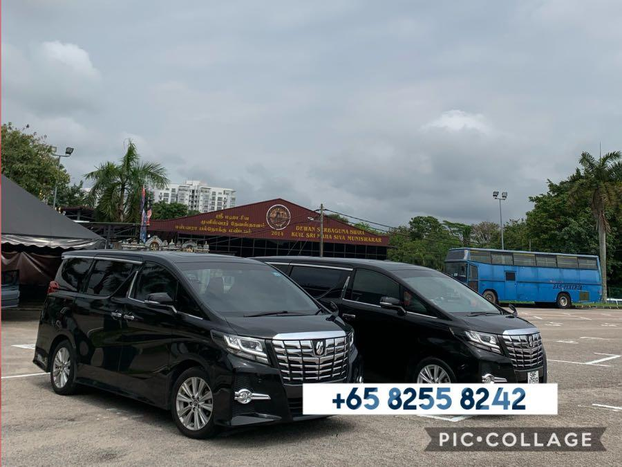 Alphard / Vellfire / Mercedes E class with personal chauffeur for wedding, business or leisure!