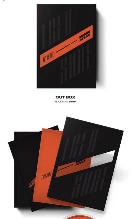 ATEEZ TREASURE EP.FIN: ALL TO ACTION 1ST ANNIVERSARY EDITION ver.