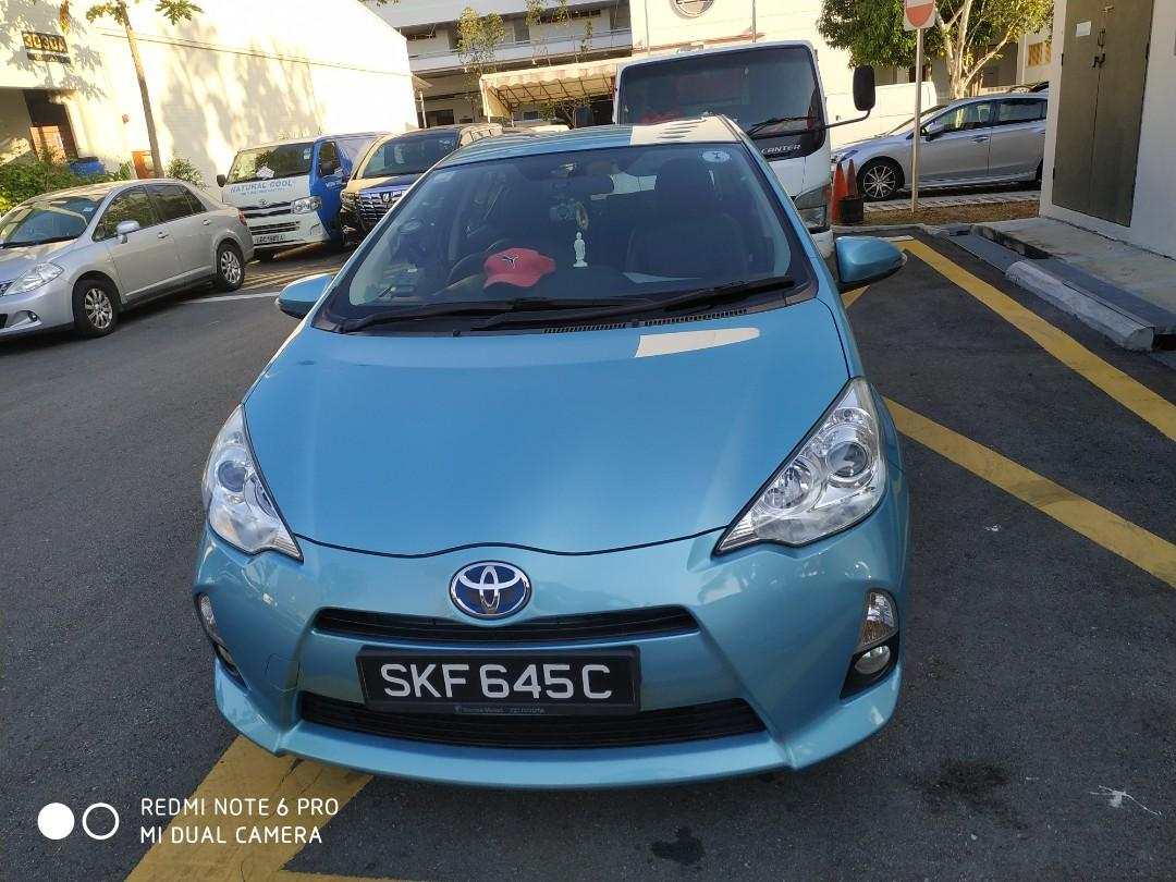 Attn All Private Hirer!Hybrid Toyota Prius C For Lease