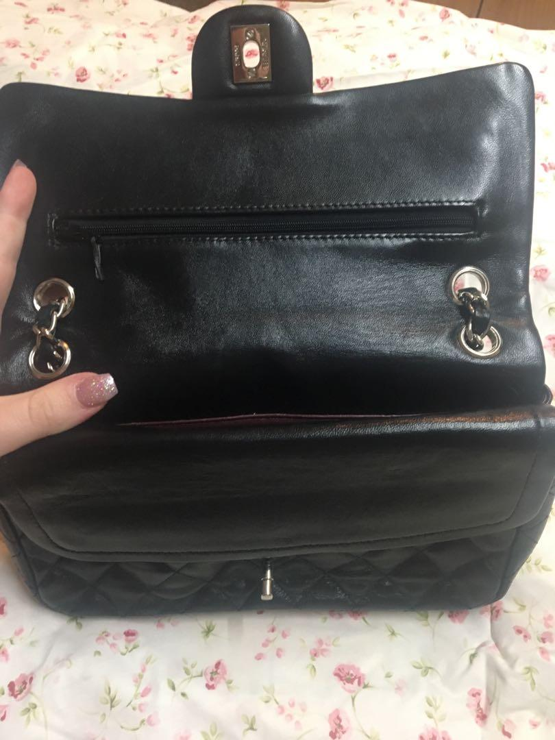AUTHENTIC Chanel double flap bag in used conditon