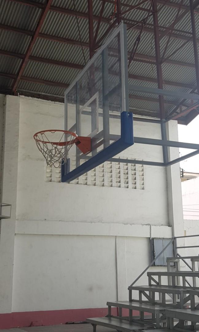 Basketball Board Set Fiberglass Acrylic FLEXIGLASS