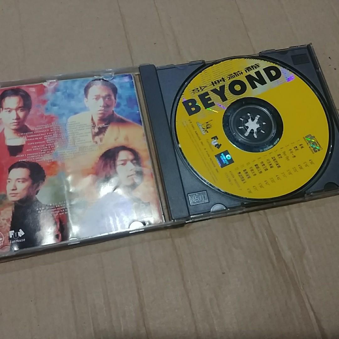 BEYOND 繼續革命 特價CD 90新有花 封面底紙有摺痕 實圖 十六