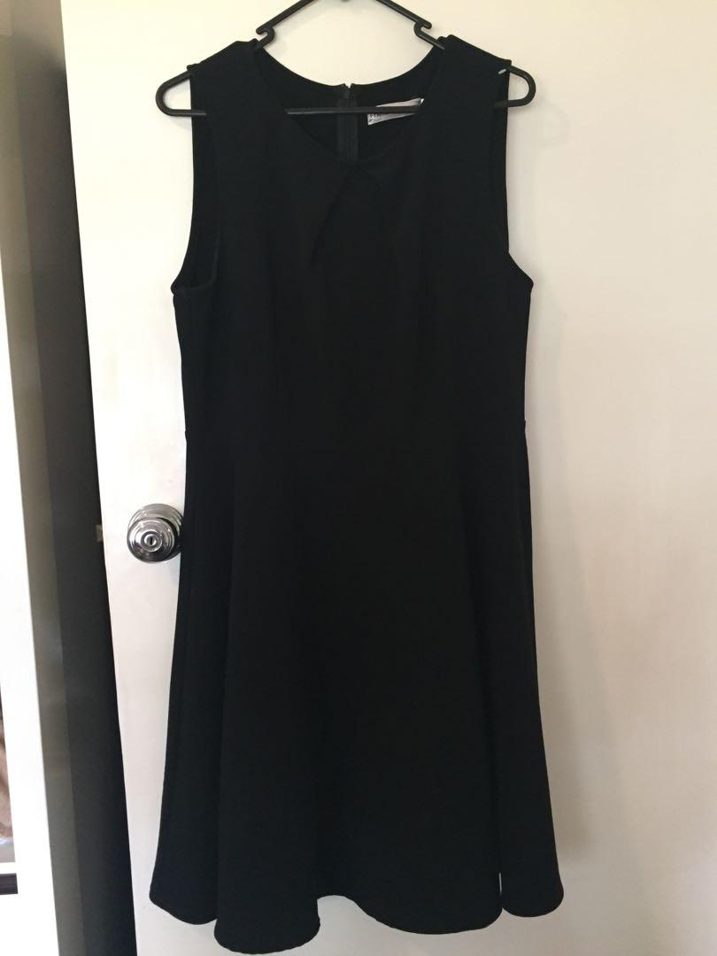 Black a line - friends of couture Dangerfield dress size 14