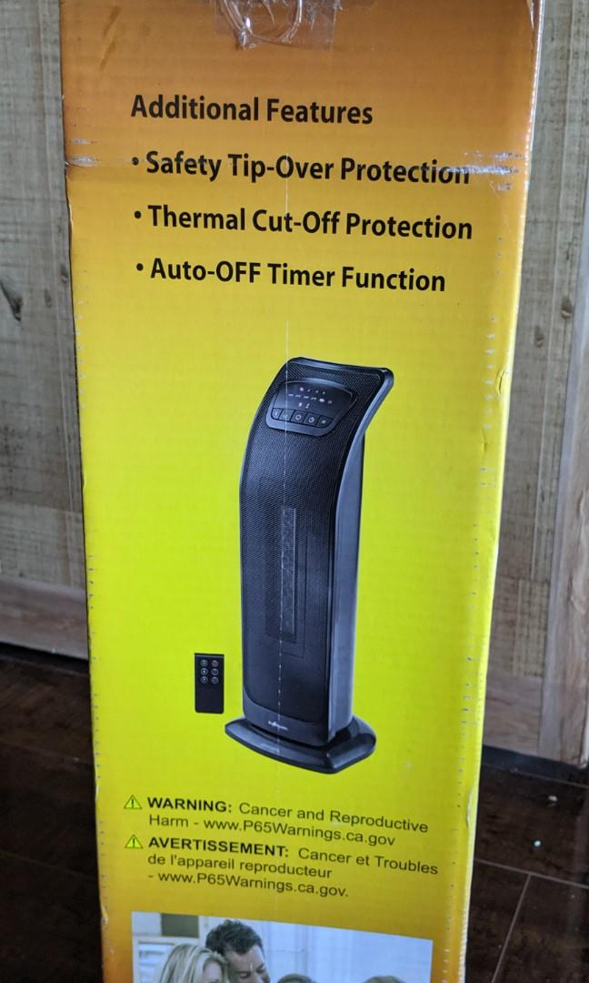 Brand New EcoHouzng Oscillating Tower Ceramic Heater