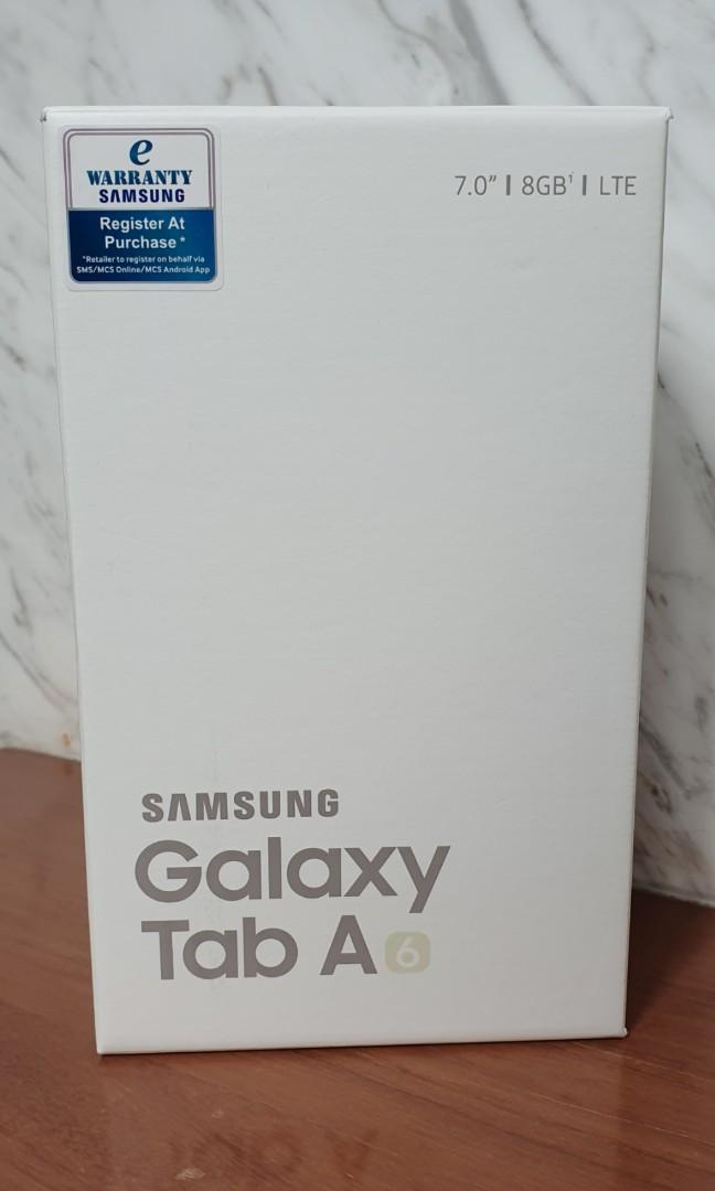 Brand New Samsung Galaxy Tab A6: 7-inch (Tablet + Mobile)
