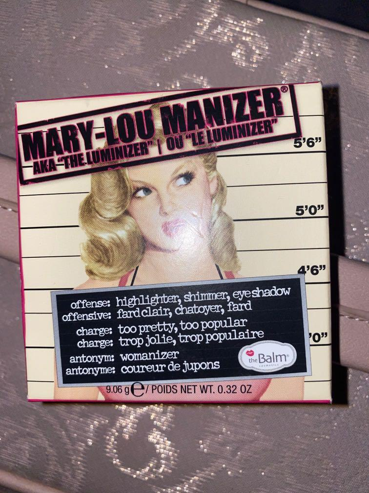Brand new sealed The Balm Mary - Lou Manizer highlighter