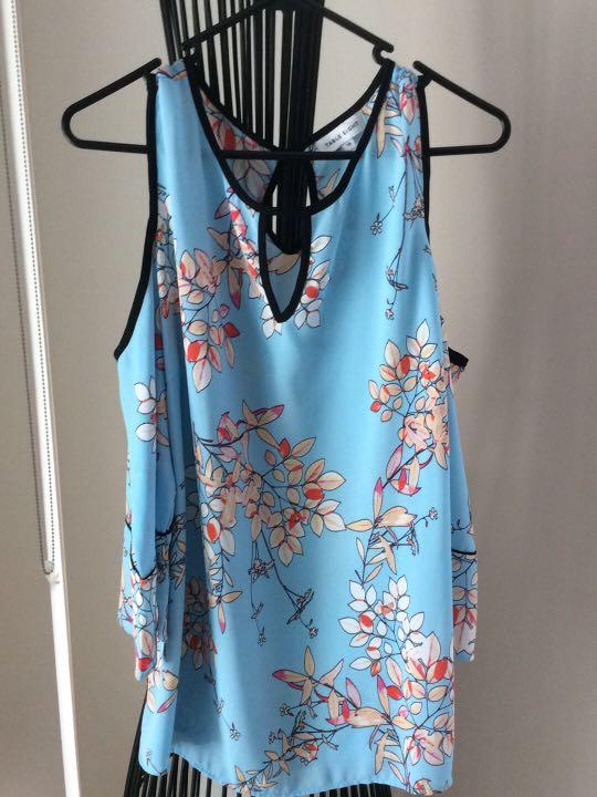 Brand new without tags cold shoulder sleeves Table Eight size 12