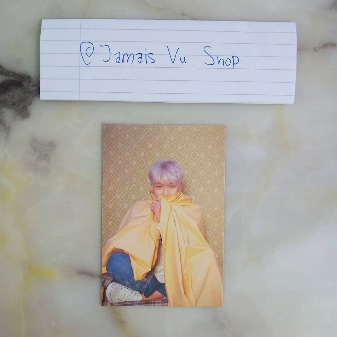 BTS MAPS OF THE SOUL: PERSONA OFFICIAL RM POSTCARD
