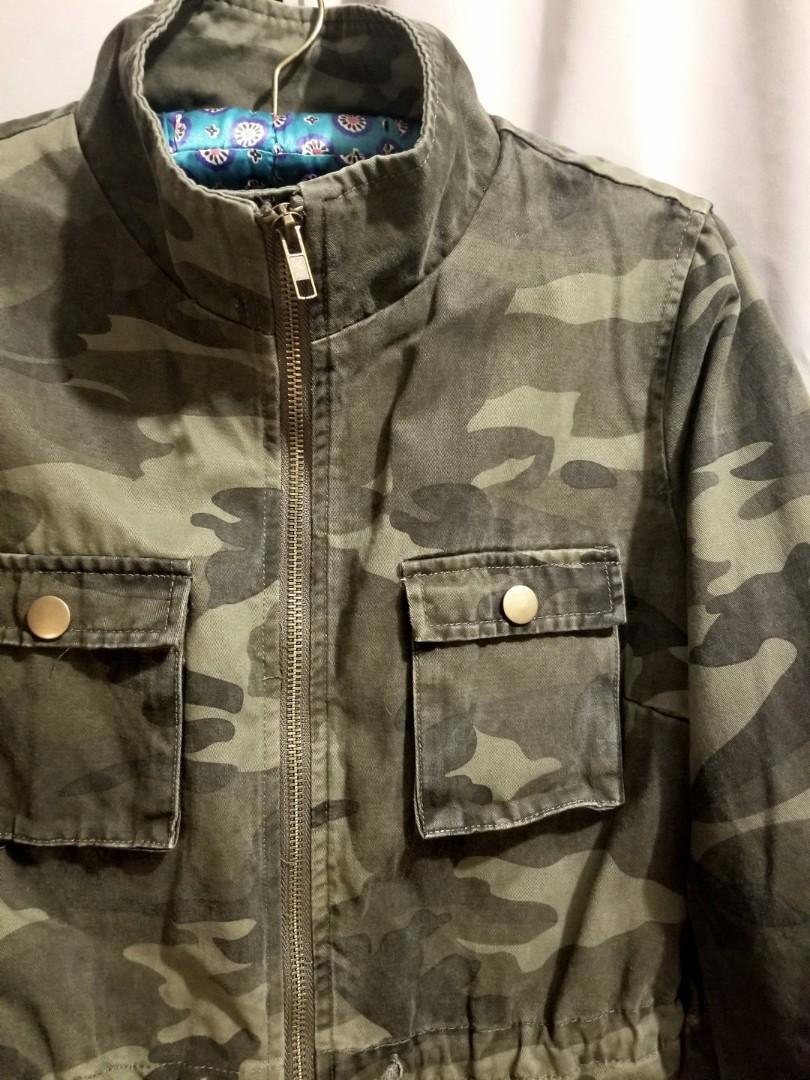Camouflage Jacket 迷彩外套